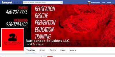Rattlesnake Solutions on Facebook
