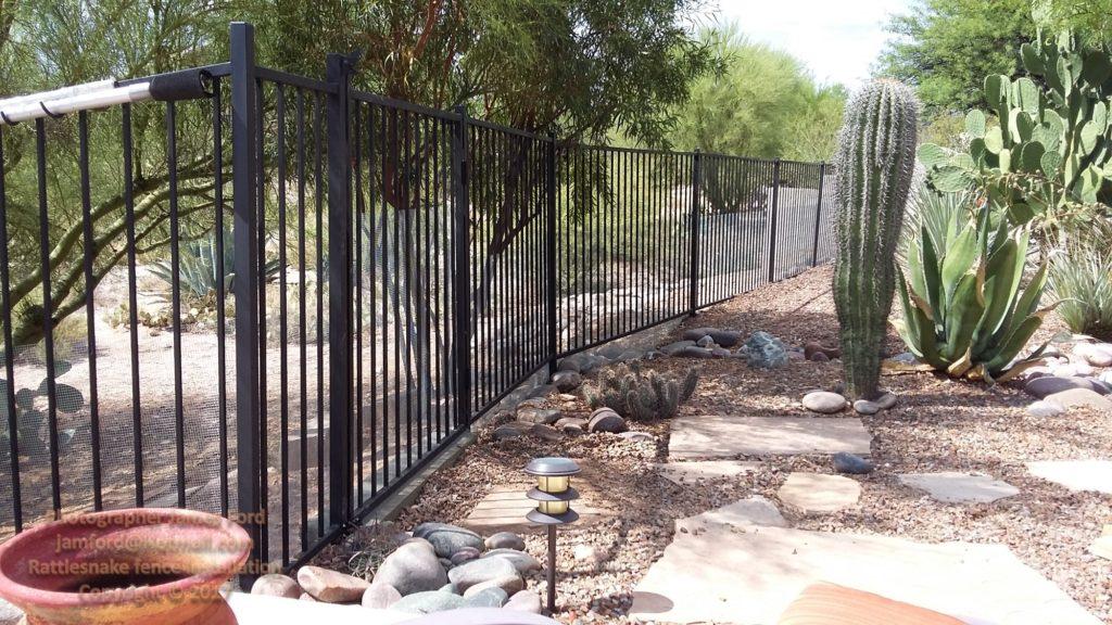 Snake Fence Properly Installed