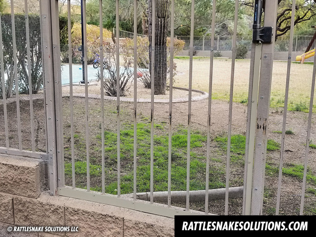 Snake Fence Installations 2019 Rattlesnake Solutions