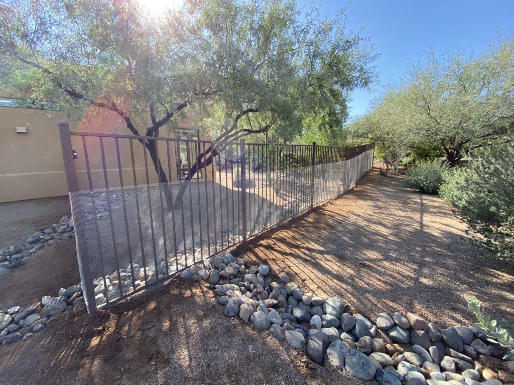 Rattlesnake Fence Install